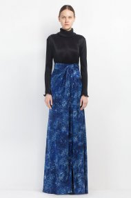 STELAR BLUE MAXI SKIRT Alternative
