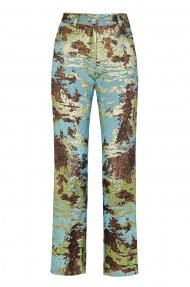 CAMO STRAIGHTLEG PANTS