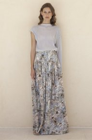 MAXI PLEATED SKIRT Alternative