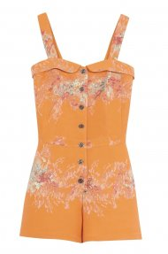TANGERINE PLAYSUIT