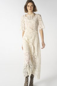 V-NECK LACE DRESS Alternative