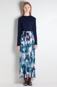 SEQUINED TULLE MIDI SKIRT Alternative
