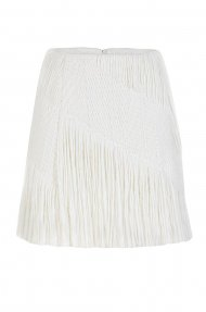 FRINGES MINI SKIRT