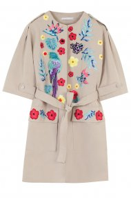 SAFARI EMBELLISHED COAT